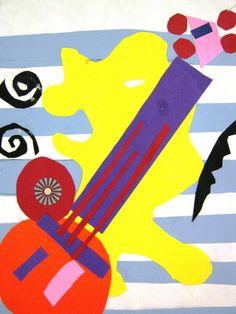 Henri Matisse Collages | Matisse Collages | doodles
