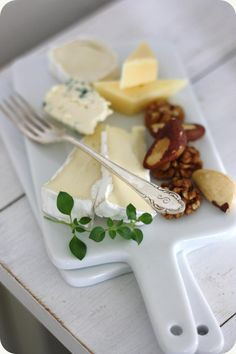 Nut and cheese plate