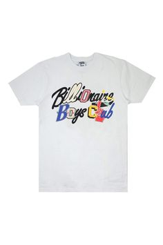 b421bc8bb85  BillionaireBoysClub  GoTeam  Tee - The Go Team Tee from Billionaire Boys  Club features
