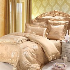 Elegant Bedspreads | Luxury Bedding Sets (HAR027A) - China Luxury Bedding Sets,Cotton ...