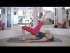 Pilates video... This is what is currently helping me get in shape and rehabilitate my hip and lower back