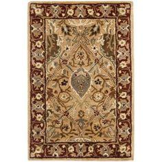 Safavieh Persian Legend Orange Area Rug Rug Size: