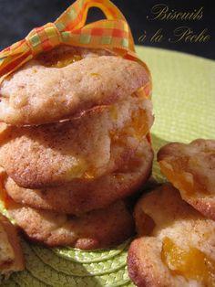 J'en reprendrai bien un bout...: Biscuits à la Pêche (Martha Stewart # 12)