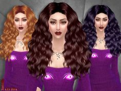 Hair s35 Diva by SintikliaSims at TSR • Sims 4 Updates