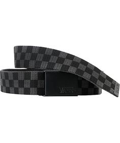 Rep' your favorite brand while you keep those pants up nice and secure, in the Vans Deppster black and charcoal checkered belt. Coming in the classic checked black and grey colorway, this belt features a subtle black buckle with an embossed Vans logo. Skater Outfits, Cute Outfits, Vans Logo, Skinny Belt, Buy 1 Get 1, Streetwear Fashion, Charcoal, Black And Grey, My Style