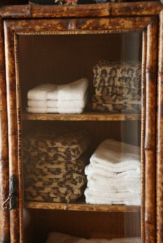 Leopard towels~