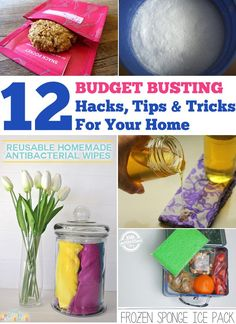 Save time and money with these budget busting tips and tricks for your home, health and happiness.