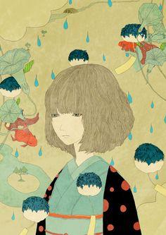 shigekiki by kotaro chiba, via Behance