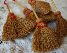 1000 images about a broom by any other name on for Straw brooms for crafts