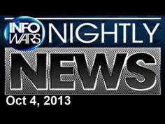 INFOWARS Nightly News: with GiGi Erneta Friday October 4 2013: Robotic T...