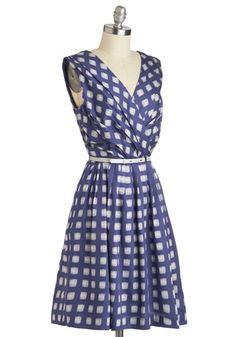 Kiss and Trellis Dress   Mod Retro Vintage Dresses   ModCloth.com