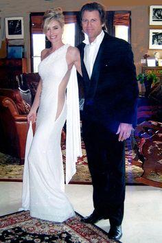 Eileen Davidson and her husband Vince Van Patten