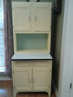 Kitchen Hoosiers for Sale | ... apartment size cabinet all ...