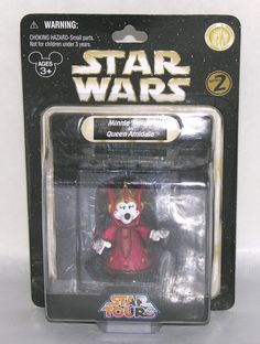 Disney Star Wars Star Tours Minnie Mouse as Queen Amidala Queen Amidala, Star Tours, Disney Star Wars, Disney Love, Framed Artwork, Minnie Mouse, Candle Holders, Pottery, Stars