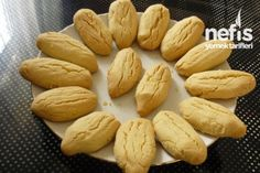 Turkish Cookies, Turkish Recipes, Dessert Recipes, Desserts, No Bake Cake, I Foods, Food And Drink, Yummy Food, Anne