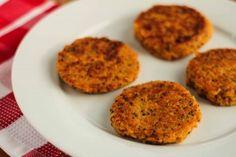Rote Linsen Quinoa Buletten