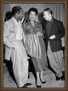Charlie parker billie holiday at Bop City in fillmore 1950s