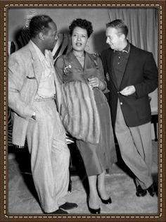 Charlie parker billie holiday at Bop City in fillmore 1950s
