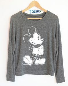CLASSIC MICKEY SWEATER from FRESHTOPS )freshtops closet)
