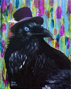 http://images.fineartamerica.com/images-medium-large-5/beautiful-dreamer-black-raven-crow-8x10-mixed-media-by-jaime-haney-jaime-haney.jpg