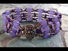 Tile We Meet Again Bracelet. - #Seed #Bead #Tutorials