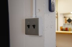 09-2 スイッチはパナソニックの「タンブラスイッチ」を使用しています。