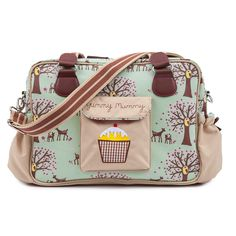 Woodland 'Yummy Mummy - Pink Linings' changing bag - Would sell my soul for this beauty!