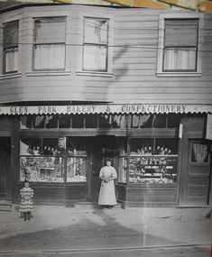 A bakery and confectionery in old San Francisco - you know how Kye loves his sweets!