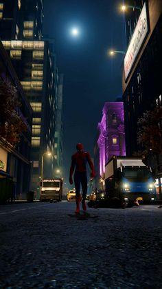 Marvel Dc, Marvel Comics Superheroes, Marvel Characters, Black Spiderman, Spiderman Art, Amazing Spiderman, Marvel Wallpaper, Mobile Wallpaper, Black Panther Marvel