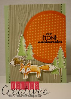Life in the forest from Stampin'up! http://foliescreatives.blogspot.ca/
