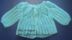 casacos para bebe em trico de duas agulhas - Pesquisa Google