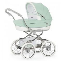 Bebecar Stylo Class EL Magic 3 in 1 Combination Pram ~ Powder Green