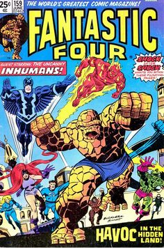 Fantastic Four #159, Cover