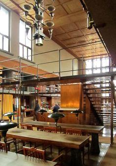 University Library, Ljubljana, Slovenia. Architect : Joze Plecnik