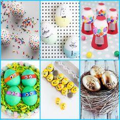 10 Fun, Creative D.I.Y. Egg Decorating Ideas: http://blog.handy.com/10-fun-creative-d-i-y-egg-decorating-ideas/