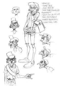 Vicious Circle: Character design on Behance