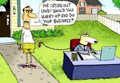 Another Dog Business Cartoon