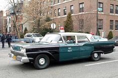 Vintage NYPD 1959 Ford Police Car, Brooklyn, New York City by jag9889, via Flickr