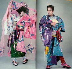 1980, Japanese fashions.