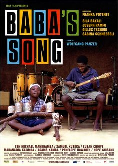 BABA S SONG - 2009 - AFRIKA - MUSIK-FILMPOSTER A4