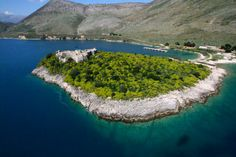 Albania Porto Palermo Castle south of Himara