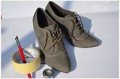 Schuhe lackieren #diy #deko #decoration #trend #tutorial #anleitung #selbermachen #filizity