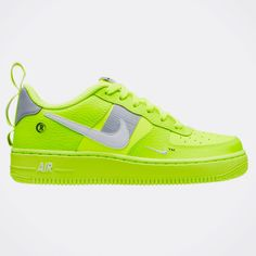 the best attitude 05795 56ca1 Nike Shoes   Boys Nike Air Force One -New   Color  Green Yellow