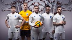 England team debut 2014 World Cup kit at photoshoot – video