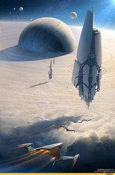 Sci-Fi,art,арт,красивые картинки