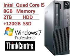 Introducing 2016 Lenovo ThinkCentre M82 Small Form Factor Business Desktop Computer Intel Quad Core i53470 up to 36Ghz CPU 8GB DDR3 2TB HDD  120GB SSD USB 30 DVDRW Windows 7 Pro Certified Refurbished. Great product and follow us for more updates!