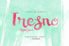 Tresno Typeface by Adhreza on @creativemarket