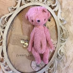 Sweet little teddy bear by olive grove primitives