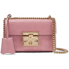 Gucci Padlock small embossed leather shoulder bag ($1,700) ❤ liked on Polyvore featuring bags, handbags, shoulder bags, gucci, antique rose, gucci purse, red leather purse, red shoulder bag, leather handbags and leather man bags