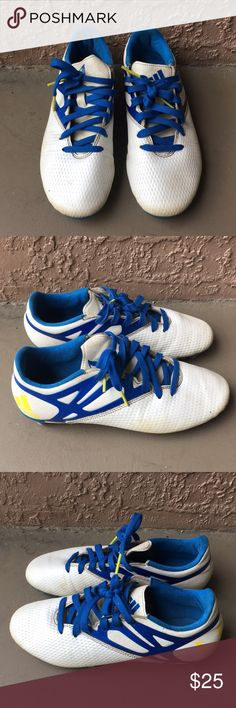 534abe743 Men Adidas Messi soccer cleats size 7 Used Men Adidas Messi soccer cleats  size 7.